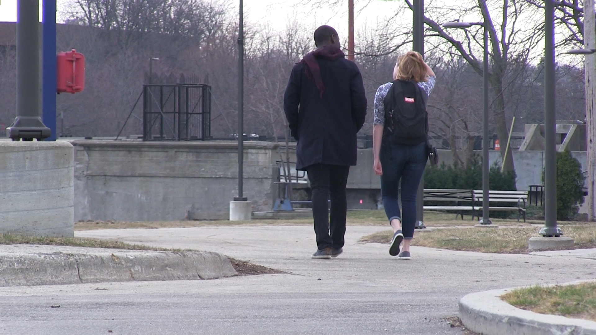 Students-walking